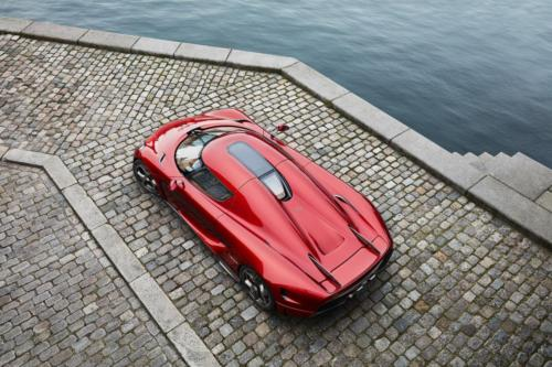 Koenigsegg Regera Bridge