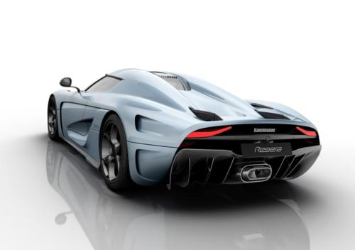 Koenigsegg Regera rear wing down